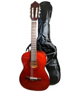 Photo of the Classical Guitar Ashton model SPCG-34AM with a bag