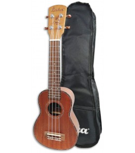 Photo of the Ukulele Soprano Laka model VUS40 with Bag
