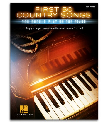 Photo of the First 50 Country Songs You Should Play On the Piano's book cover