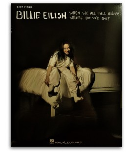 Photo of the Billie Eilish When We All Fall Asleep, Where Do We Go? for Easy Piano's book cover