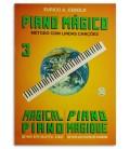Photo of the Eurico Cebolo Book M辿todo Piano M叩gico No 3 PM 3 with CD's cover