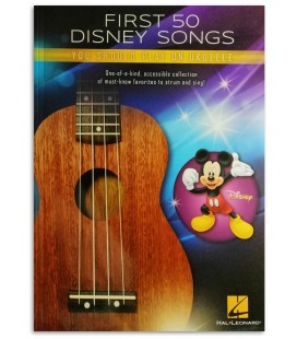 Photo of a sample from the First 50 Disney Songs You Should Play on Ukulele's book