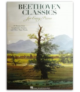 Photo of the Beethoven Classics for Easy Piano's book cover
