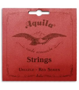 Photo of the Single String Aquila model 71-U Red Series Low G's package cover