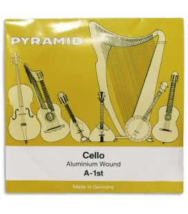 Single String Pyramid 170101 A for Cello 4/4