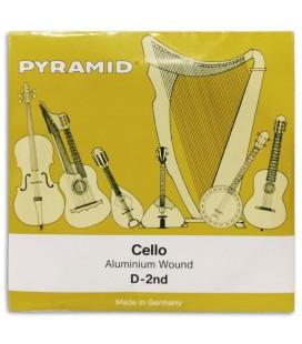 Single String Pyramid 170102 D for Cello 4/4