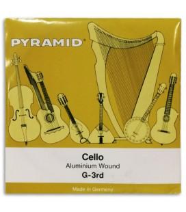 Single String Pyramid 170103 G for Cello 4/4