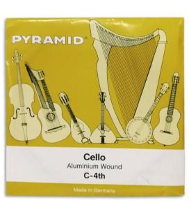 Single String Pyramid 170104 C for Cello 4/4