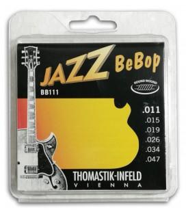Thomastik Electric Jazz Guitar String Set 011 BB-111 Bebop