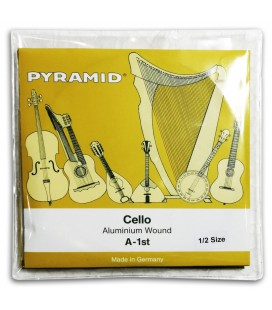 Photo of the Pyramid Cello Strings Set 170100 1/2's package cover