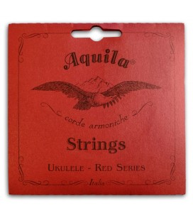 Photo of the Single String Aquila model 72-U Red Series Low G for Tenor Ukulele's package cover
