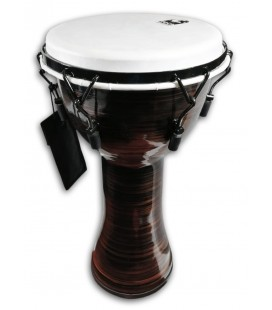 Djembe Toca Percussion TF2DM-10SC Freestyle II Mechanically Tuned Spun Copper