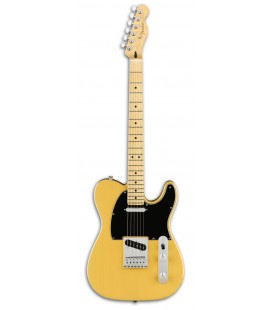 Photo of the Eletric Guitar Fender model Player Telecaster MN in color Butterscotch Blonde
