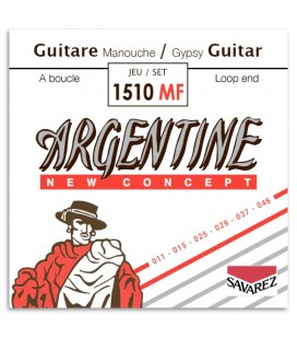 Photo of the String Set Savarez model Argentine 1510MF's package cover
