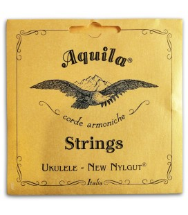 Photo of the Single String Aquila 16-U Wound Low G for Tenor Ukulele's package cover