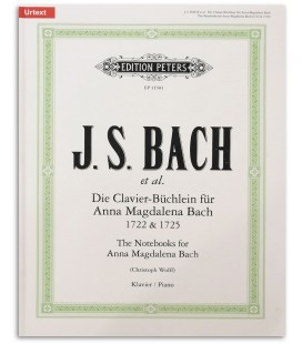 Notebook Anna Magdalena Bach Edition Peters