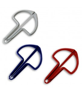 Photo of the Jaw Harp Schwarz modelo DB20-14 Metallic's three available color options