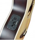Photo of the guitar Yamaha APX-T2 natural's preamp