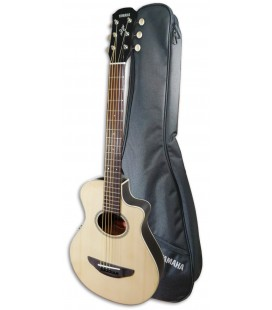 Photo of guitar Yamaha APX-T2 natural with bag