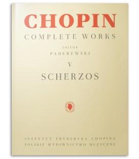 Photo of Chopin Scherzos Paderewski's book cover