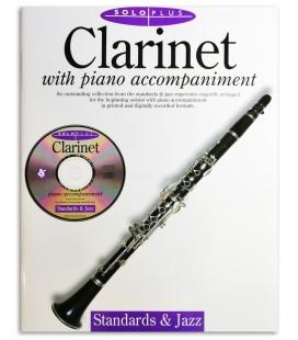 Solo Plus Standards & Jazz Clarinet Book/CD