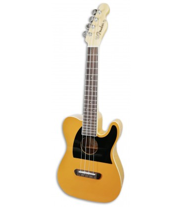 Photo of the Tenor Ukulele Fender model Fullerton Tele BTB