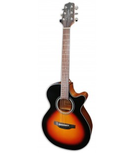 Photo of the Electroacoustic Guitar Takamine model GF15CE-BSB FXC Brown Sunburst