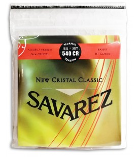 Photo of the String set Savarez 540 CR Guitarra Cl叩ssica New Crystal Classic's package cover