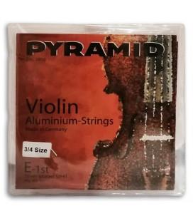 String set Pyramid 100100 Violin Aluminium 3/4