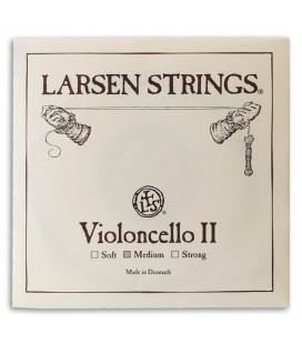 Individual String Larsen 2捉 D Cello 4/4 Medium