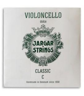 Individual String Jargar 4th C Cello Green