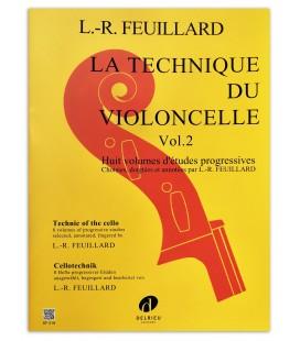 Feuillard La Technique du Violoncelle Vol 2