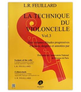 Feuillard La Technique du Violoncelle Vol 3