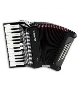 Hohner Accordion A 4052 Bravo II 48 26 Keys 48 Basses Black
