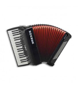 Hohner Accordion Bravo III 80 37 Keys 80 Basses Black