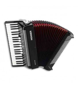Hohner Accordion Bravo III 96 37 Keys 96 Basses Black