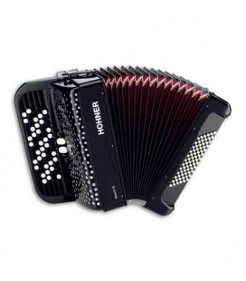 Hohner Accordion Nova II 72 62 Buttons 72 Basses Black