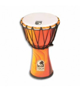 Toca Percussion Djembe SFDJ 7F Freestyle Rope Tuned Fiesta