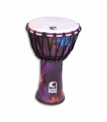 Toca Percussion Djembe SFDJ 9WP Freestyle Woodstock Purple