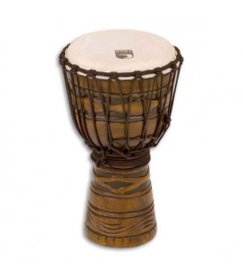 Toca Percussion Djembe TODJ 8AM Origins Series Wood Rope Tuned