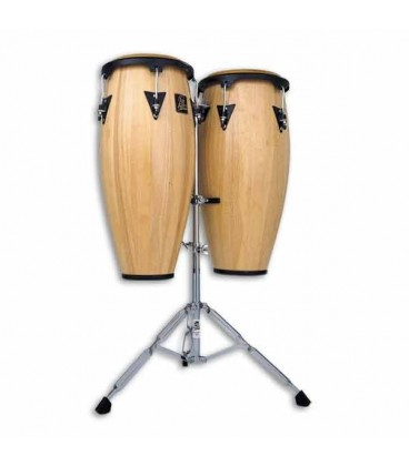 LP Pair of Congas Wood Combo Conga 10  11