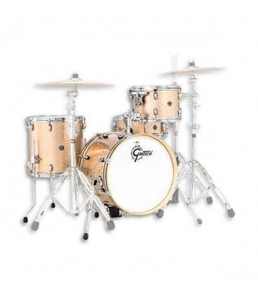 Photo of the Drums Gretsch model Catalina Club Jazz without Cymbals in shine natural color