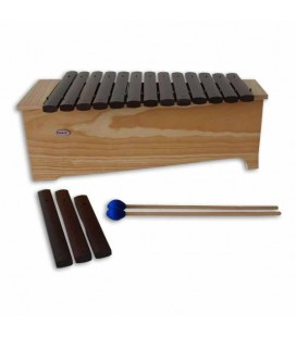 Alto Diatonic Xylophone Honsuy 49120 C to A with Mallets