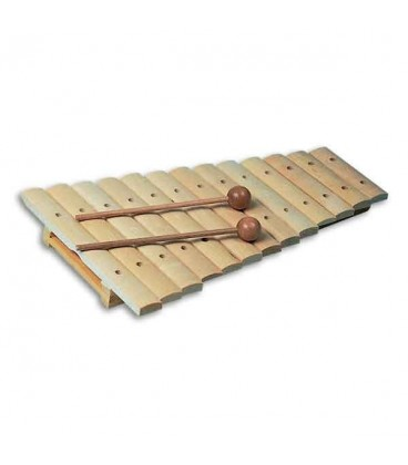 Goldon Xylophone 11200 B to G Natural with Mallets