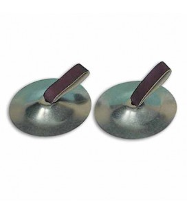 Goldon Pair of Finger Cymbals 34000 Chrome