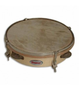 Tambourine Honsuy 41050 20cm 4 Sets Jingles Skinhead