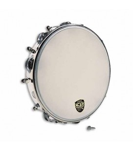 LP Tambourine CP392 with Skin and Tuning in Metal 10