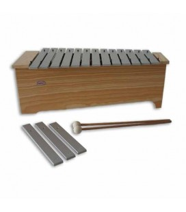 Honsuy Alto Diatonic Metallophone 49220 C to A with Mallets