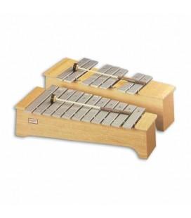 Honsuy Soprano Chromatic Metallophone 49730 C to F