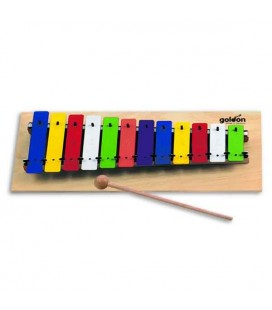 Goldon Glockenspiel 11030 C3 to G4 Wood Base